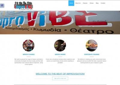 Η ImproVIBE είναι η πρώτη και μοναδική σχολή αυτοσχεδιασμού και αυτοσχεδιαστικής θεατρικής κωμωδίας(improv comedy theater) στην Ελλάδα